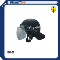 Special designed full protection visor ABS material anti roit helmet