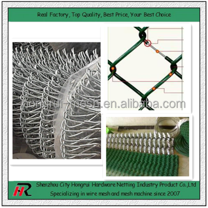 supply hot sale electro dipped galvanized chain link fence