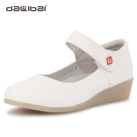 strictly comfort nurses uniform shoes for women summer sandals casual 2014