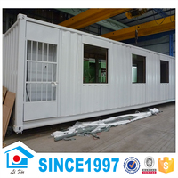 Modern movable collapsible prefabricated concrete cotainer house/ office container homes