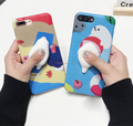 2017 hand painting cat 3D kneading cartoon workmanship pretty phone case for iPhone 6/6plus7/7 plus imd tpu case