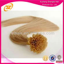 Factory Wholesale Double Drawn Pre-bonded Hair Weave Flat Tip Hair, V Tip Hair, U Tip Hair