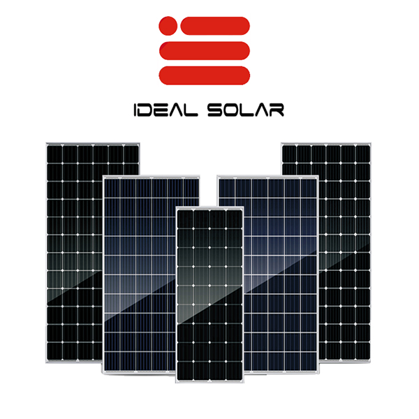 IDEAL photovoltaic 190w 195w 190 w 195 watt poly mono pv modules system with the lowest price bifacial solar panels