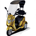 33KM/H MAX SPEED 3 Wheel Electric mobility Scooter Adult For Handicap