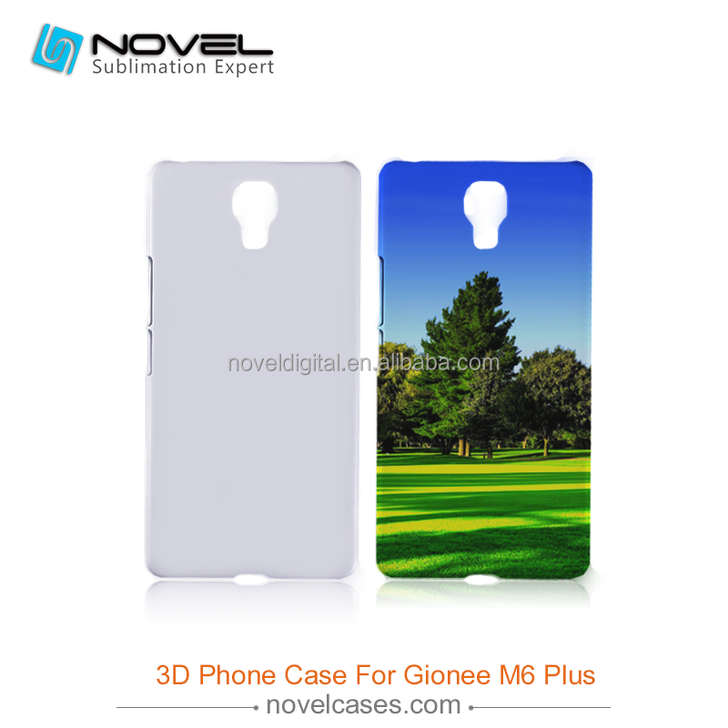 Diy Sublimation Mobile Phone Cover for Gionee M6 Plus