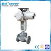 8 Inch WCB Motorized Industrial Control Valves