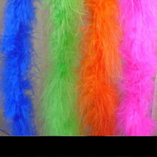Wholesale cock feather boa, feather trim For Party decoration