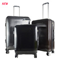 new fashion Unique 3pcs spinner luggage set , pc travel luggage set