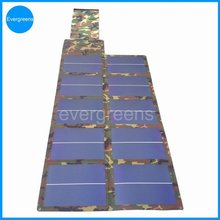60W flexible and foldable waterproof portable solar panel