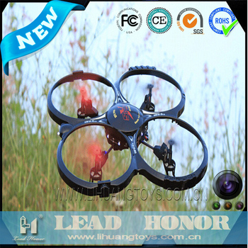 LH-X4C 2.4G 4CH 6 axis dronee con camera professional aircraft for sale scrap