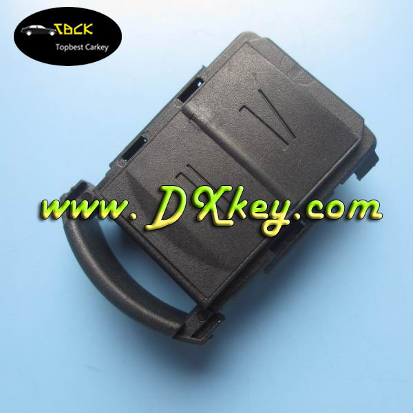 Low Price 2 button remote car key cover no writing on the backside for opel key shell oscar key blanks