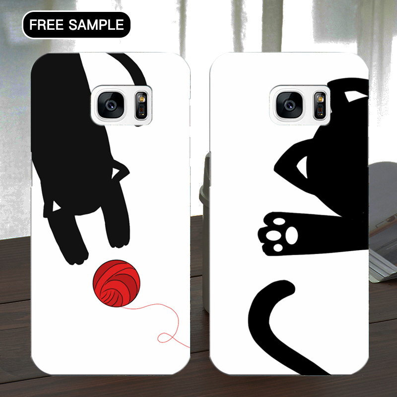 free sample phone case for Samsung S7 china cute pattern phone case for both bulk and wholesale