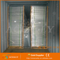 floor stacking pallets/copper wire mesh container/wire mesh decking