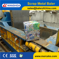 Y83-125 Hydraulic Aluminium Beverage Cans Baler Machine with Diesel Engine