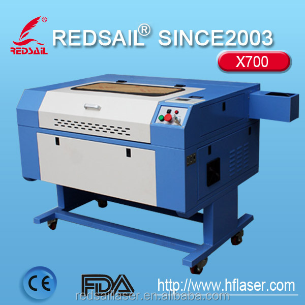 Redsail X700 laser engraving machine built-in 256M memory / can store a lot of files easy to operate.