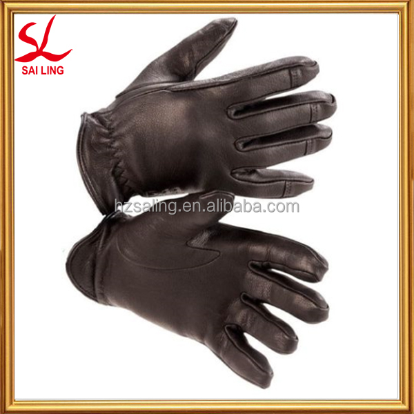 Black Fall Winter Gloves Motorcycle Bicycle Rider Gloves Off Road