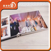 Glass Cover wedding photo albums(design and print service) for photographers