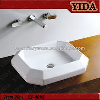 art basin and wash basin in the modern design