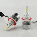 30W higher bright than C6 9004 led headlight with driving power supply