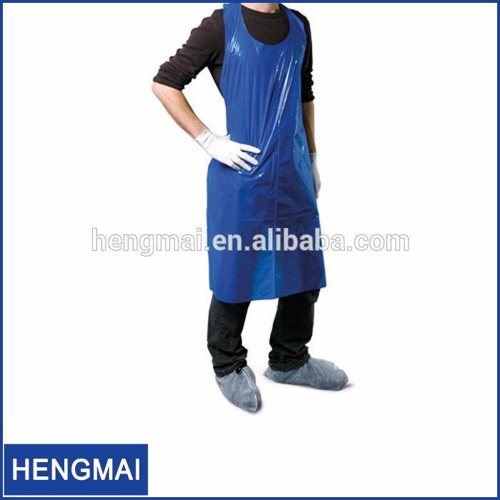 Dental Products Disposable Medical Dental Apron Plastic Apron PE Apron For Dental Use