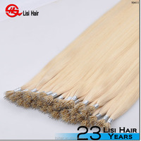 YBY Direct Factory Wholesale Price Double drawn remy keratin bond/ pre tipped fusion hair extension