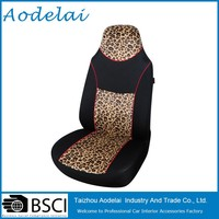 Fancy Yellow Leopard car seat cover
