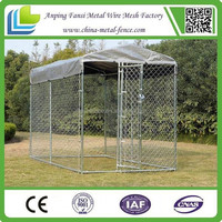 durable cheap chain link dog kennels welded wire dog kennels for sale
