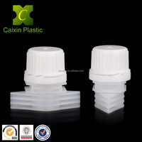 Plastic Standing up Pouch Spout with Tamper Proof Cap