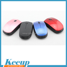 Custom logo usb optical wireless mouse/1000dpi custom printed mouse for advertising