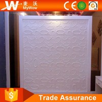 Popular Outdoor Plastic Wall Covering 3D PVC Wall Covering
