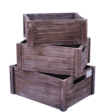 Cheap wooden fruit crate for apple/orange/vintage package