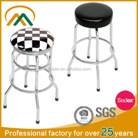 Wholesale cheap bar leather stool cover KP-BS001