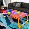 Modern Living Room Furniture Complementary Rainbow