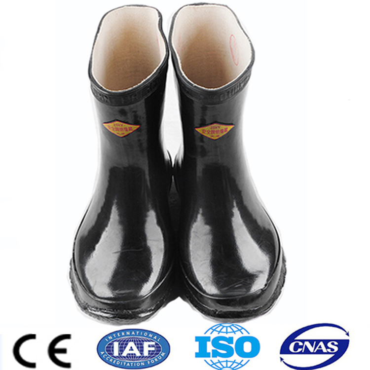 king industrial waterproof electrician's safety shoes ansi/astm