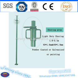 adjustable dubai steel shoring props heavy duty and light duty types