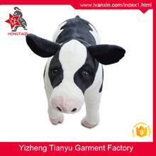 China wholesaler promotion toy Lifelike animal stuffed custom plush toy plush cow