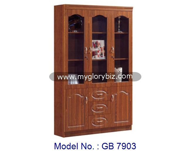 Bookcase Shelf With Glass And Drawer In MDF Furniture, bookcase, design wooden rack, wooden storage cabinet furniture