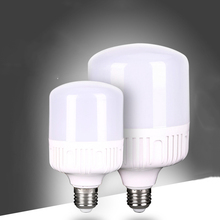 Warehouse Garage Parking Lot Lamp Lighting AC220v 230v Aluminum Plastic T Shape 10w 20w 30w 40w 50w B22 E27 Led Bulb Light