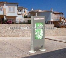 "55"" waterproof square bus stop commercial advertising display large advertising lcd screens for outdoor advertisie"