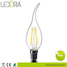 All glass no plastic 1.8w 3.5w 400lm dimmable e14 led bulb manufacturing