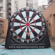 Outdoor kids N adults inflatable golf dart game from Guangzhou inflatable dart game factory