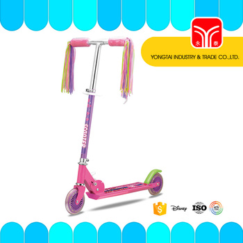 foldable scooter /2 wheel scooter / handle with light