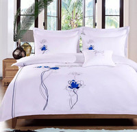 Special Design Embroider Luxury Hotel Bedding Set
