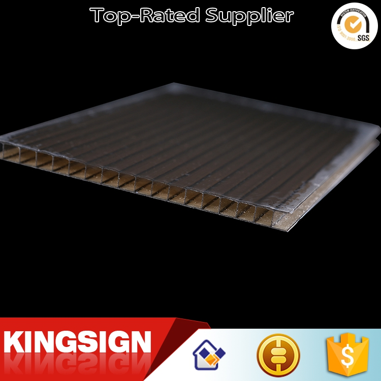 Best price First Choice 5mm polycarbonate hollow roofing sheet