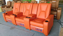 Electronic Leather Decoro Leather Sofa Recliner LS805