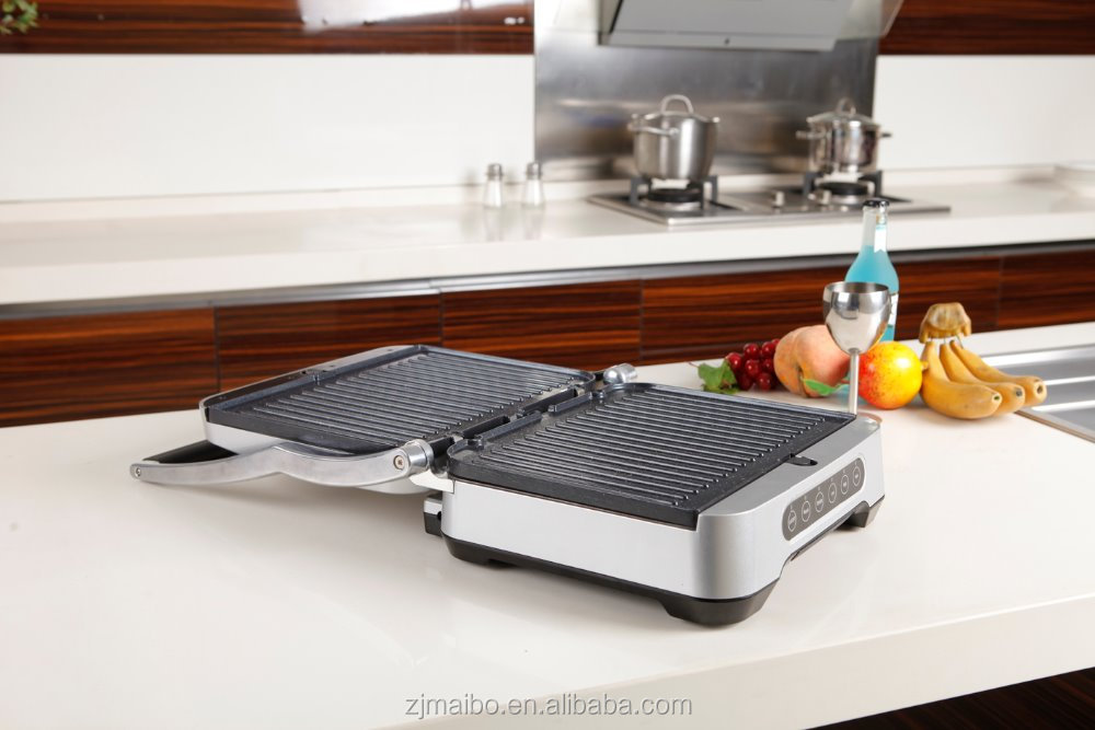 electric appliance made in china 4 slice Sandwich Maker Any Thickness Panini cantact grill