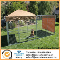 6' x 6' x 6' Two Dog Multiple Modular Welded Wire Professional Kennel Dog Run