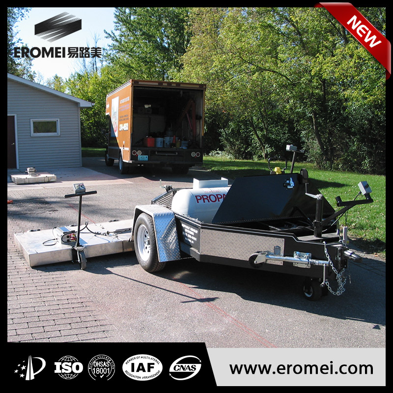 trailer asphalt heater