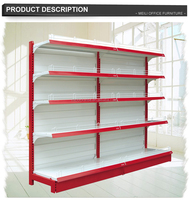 The 30years factory single side backboard rack supermarket rack