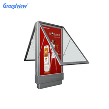 Quality advertising display floor standing rolling advertising board
